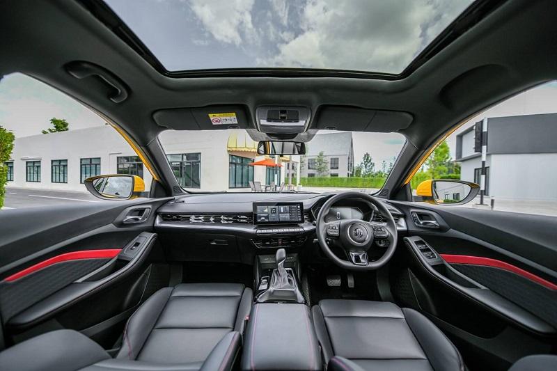 All New MG5 - interior