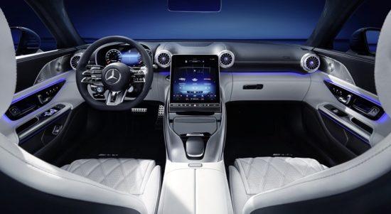 Interior New Mercedes-AMG SL