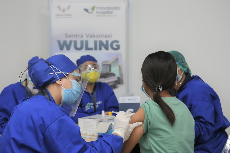 Vaksin bersama wuling
