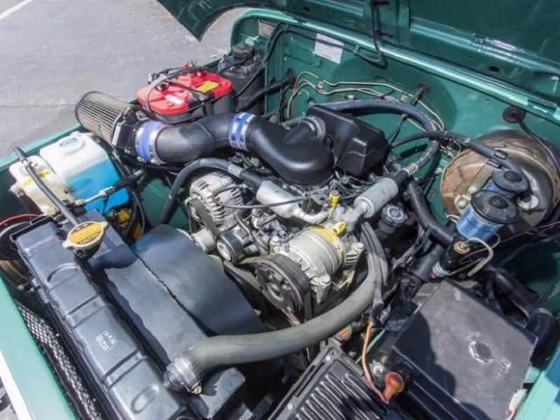Toyota Land Cruiser FJ40 Tom Hanks