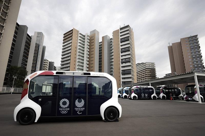 Mobil Toyota di Olimpiade Tokyo