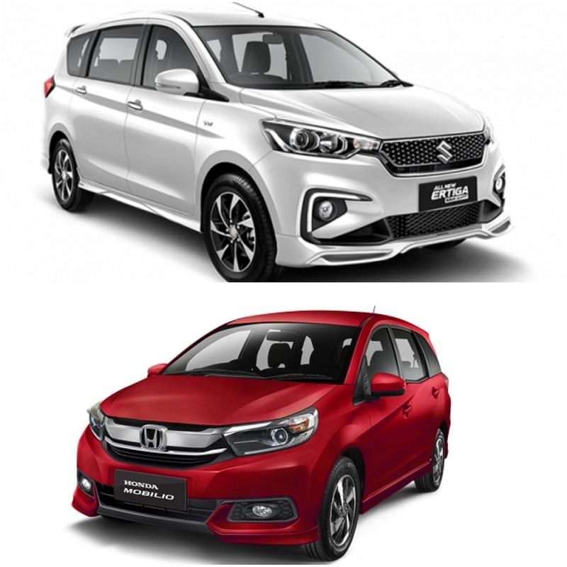 Suzuki Ertiga VS Mobilio