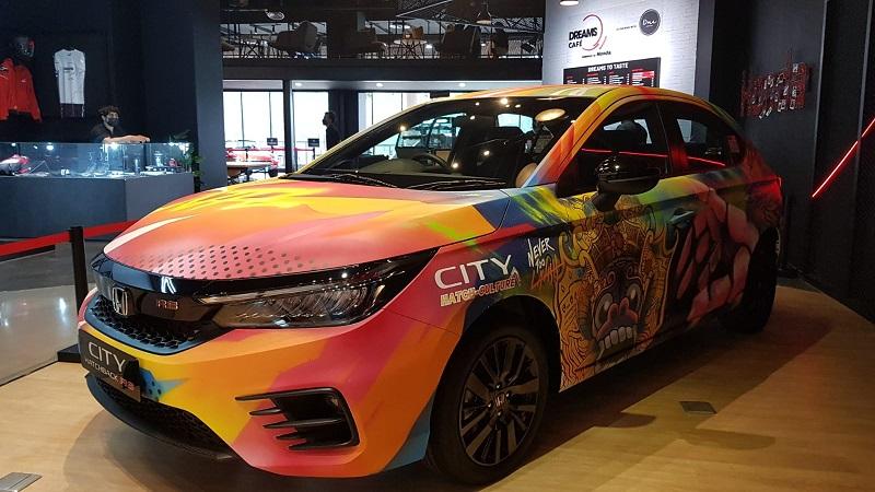 honda city hatchback rs kolaborasi nevertoolavish 001