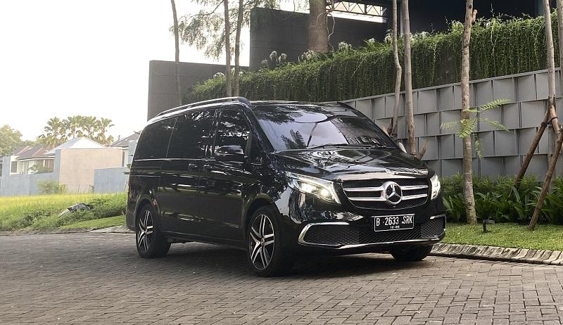 mpv premium terbaik di indonesia - mercedes-benz v-class