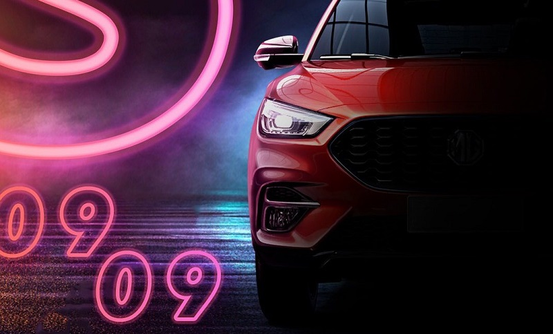 mg zs facelift 2021