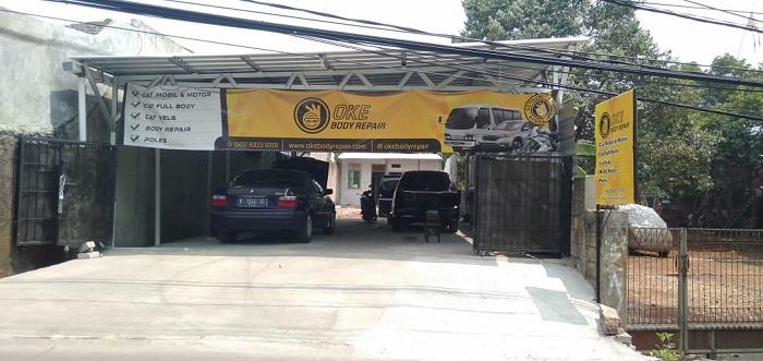Bengkel Bodi Repair Mobil
