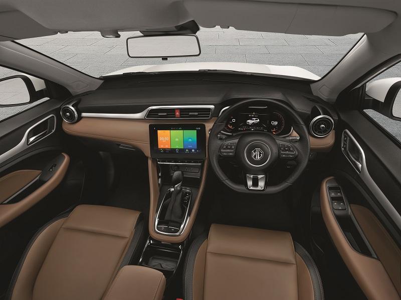 Harga mg zs facelift 2021 - interior