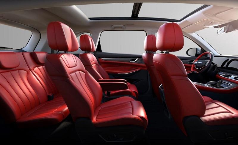 spesifikasi dan harga dfsk glory 580 generasi terbaru - interior