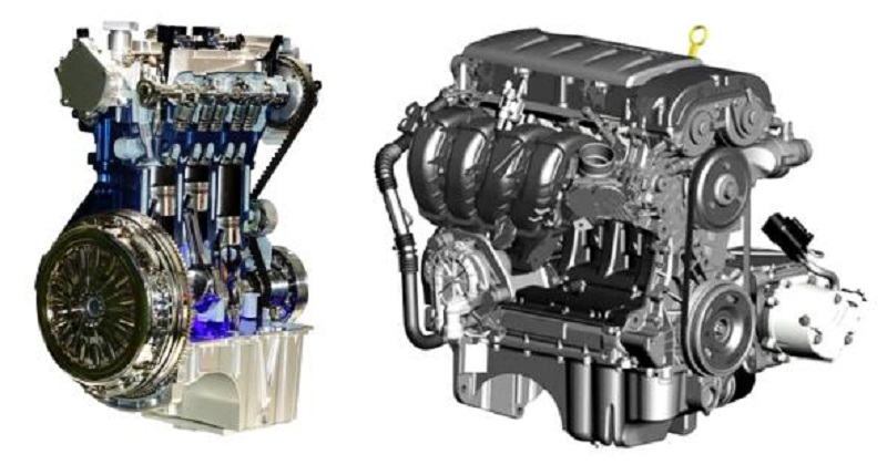 Mesin Mobil 3 Silinder VS 4 Silinder