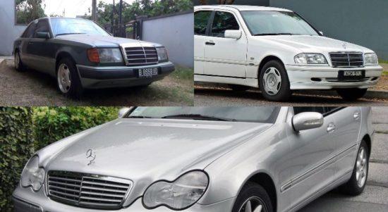 mobil mercedes benz bekas di bawah Rp 100 juta