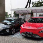 Mobil Listrik Hyundai rakitan lokal