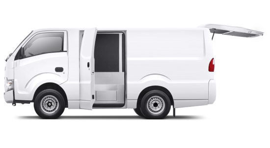 Isuzu Traga Blind Van