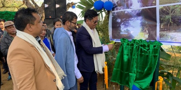 meghalaya-chief-minister-inaugurates-locally-promoted-tourist-spots-jaintia-hills