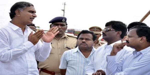 Make KCR's visit a grand success: Harish Rao