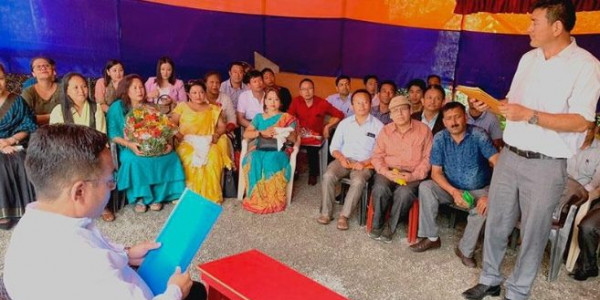 Sikkim employees' body thanks Golay for various incentives