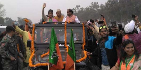 चाैथे चरण के लिए मुख्यमंत्री रघुवर दास ने कसी कमर
