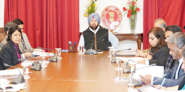 समूचे सरकारी विभागों का अब यहां होगा काम, कैप्टन अमरिन्दर सिंह ने दिए निर्देश