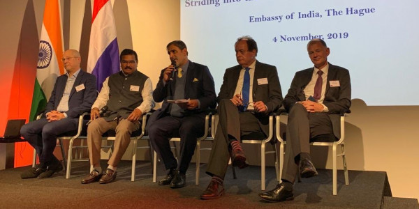 Dutch Trade Mission Investors meet: several MoU signed b/w Telangana and Netherland
