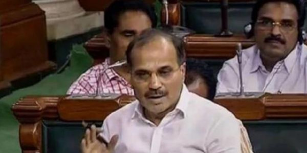 Congress losing the battle of perception against BJP : Adhir Chowdhury