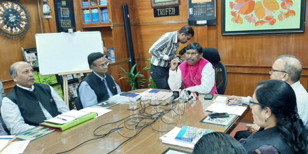 केन्द्रीय मंत्री अर्जुन मुंडा का दावा- झारखंड में फिर बनेगी भाजपा सरकार