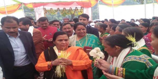 जन भागीदारी से ही सफल होंगी योजनाएं: केंद्रीय मंत्री उमा भारती