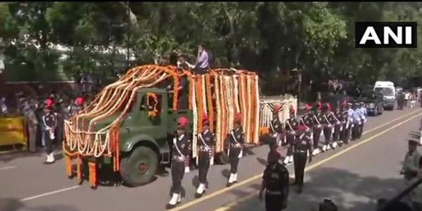 दिल्ली: स्मृति स्थल में होगा वाजपेयी जी का अंतिम संस्कार, सुरक्षा की कड़ी व्यवस्था