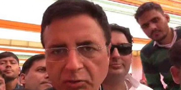 surjewala-commented-on-inld-dispute-and-bjp