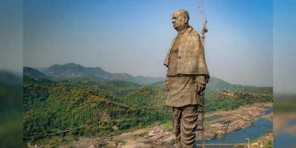 statue of unity to now get a railway station