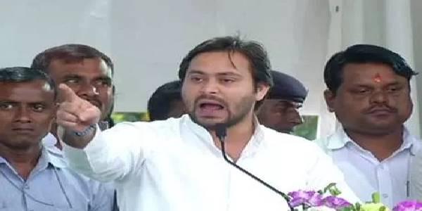 जन आक्रोश रैली में तेजस्वी ने भरी हुंकार, कहा- झारखंड की बदहाली के लिए जिम्मेवार है BJP