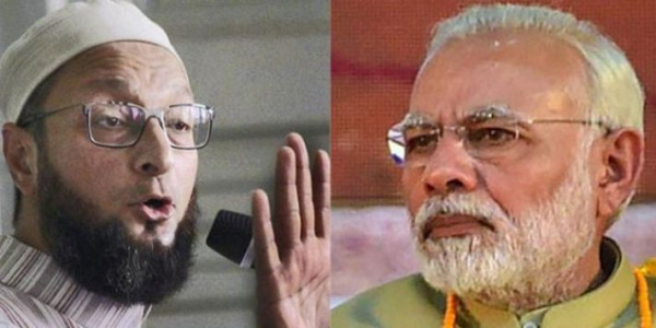 PM should raise the real issues, Owaisi criticizes Modi's 'cow' remark
