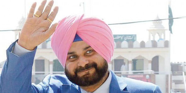 Sidhu launches another project, still not talking
