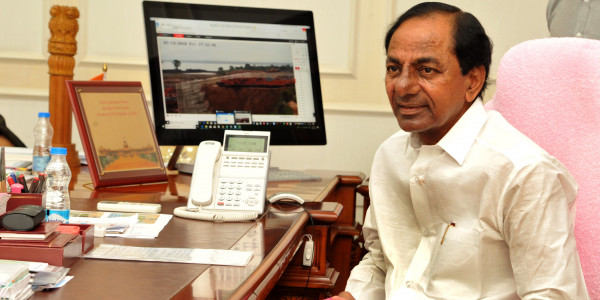 KCR going to visit Huzurnagar after bypoll victory