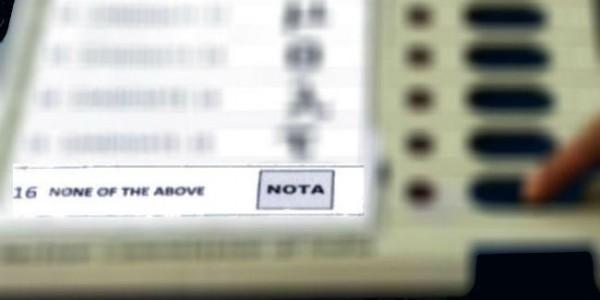 बिहार की 40 लोकसभा सीटों में से एक-तिहाई पर मतदाताओं के लिए NOTA तीसरा सबसे पंसदीदा विकल्प