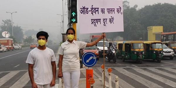 केंद्र सरकार ने माना कि ऑड-ईवन से प्रदूषण 'कुछ कम' होता है
