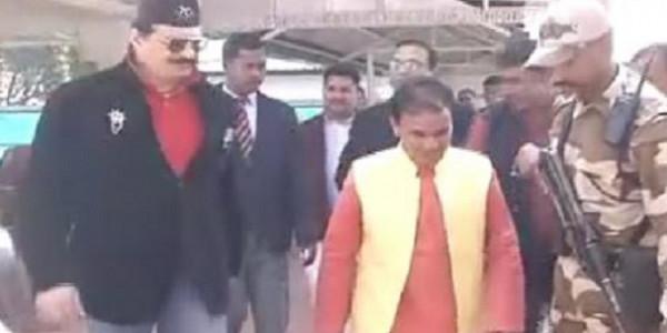 कुंवर प्रणव चैंपियन ने माफ़ी मांगी, पार्टी अध्यक्ष से पहले धन सिंह से मिले