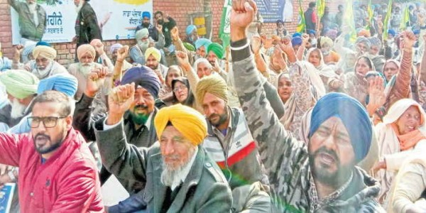farmers-protested-for-debt-waiver