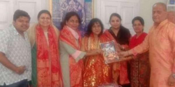 लोकसभा अध्यक्ष ओम बिरला के परिवार ने मां बज्रेश्वरी के दर नवाया शीश