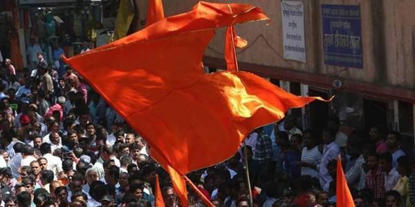 Shiv Sena leaders walk in support of coastal road