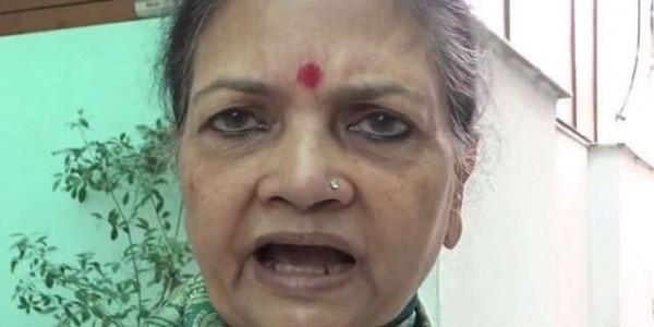 केंद्रीय मंत्री महेश शर्मा से ब्लैकमेलिंग में सामाजिक कार्यकर्ता उषा ठाकुर गिरफ्तार