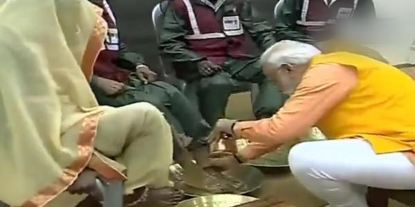 chhattisgarh-bilaspur-prayag-kumbh-those-whose-feet-were-washed-by-the-prime-minister-among-them-the-jyoti-of-chhattisgarh-korba