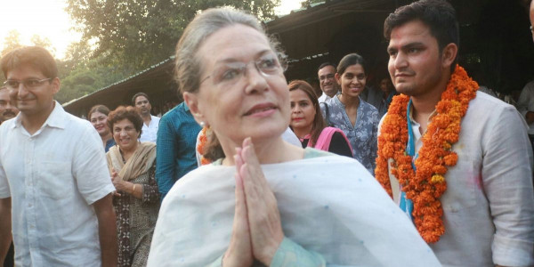 "This Is A Victory On Negative Politics Of BJP"" Said Sonia Gandhi"