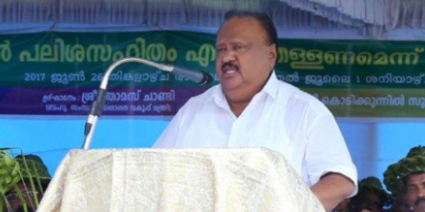 Former Kerala Minister Thomas Chandy elected as state NCP president