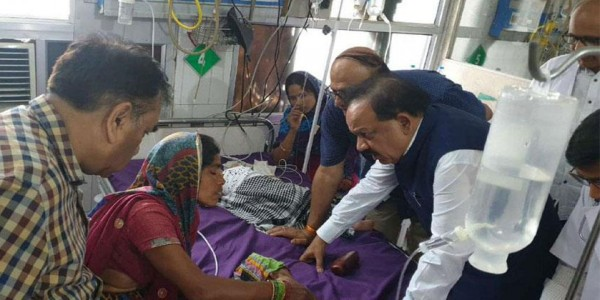 दिमागी बुखार: सीजेएम ने केंद्रीय मंत्री हर्षवर्धन और मंगल पांडे के खिलाफ दिए जांच के आदेश