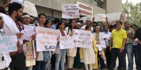 Delhi Hospitals Join Strike Call In Solidarity With Protesting Doctors In Bengal