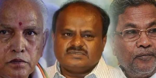 कर्नाटक में चौंका सकती है BJP, कांग्रेस गठबंधन की हालत खस्ता