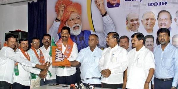 JD(S) leader joins BJP