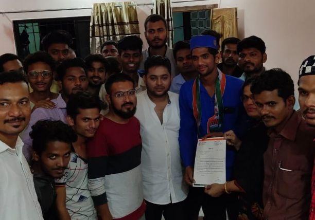 उत्तर नागपुर युवक कांग्रेस नियुक्ति कार्यक्रम।