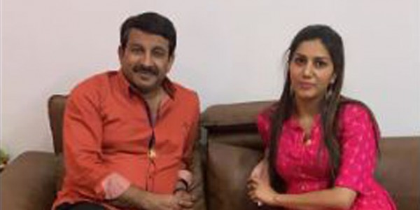 BJP MP Manoj Tiwari meets Sapna Chaudhary, says will be happy if she campaigns for party
