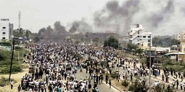 Anti-Sterlite protests: Tuticorin villagers accuse Left outfit of inciting violence