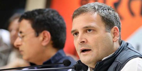 Rahul Gandhi Praises Congress Workers